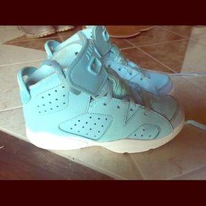 Size 13 kids Nike Jordan's